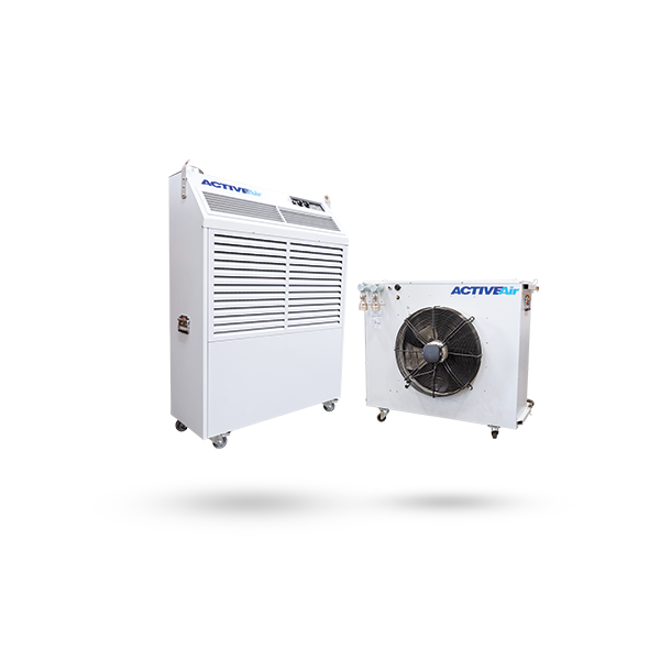 SYSTEM AIR CONDITIONER Active Air Rental Air Conditioning & Power #4C5D6D