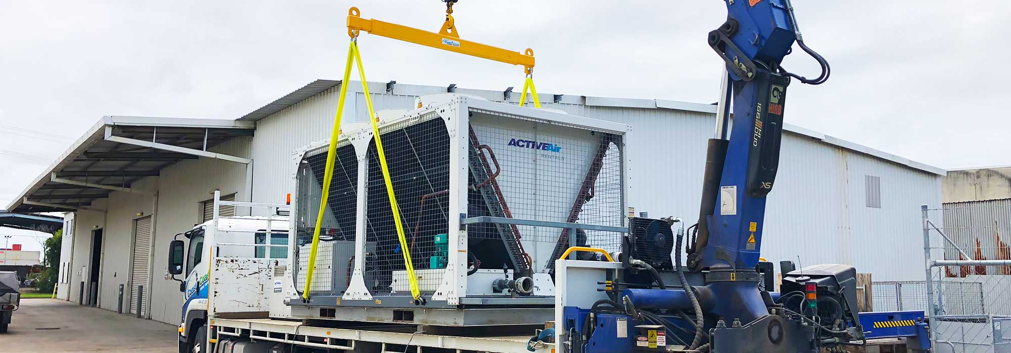 160 kW Low Temp Chiller