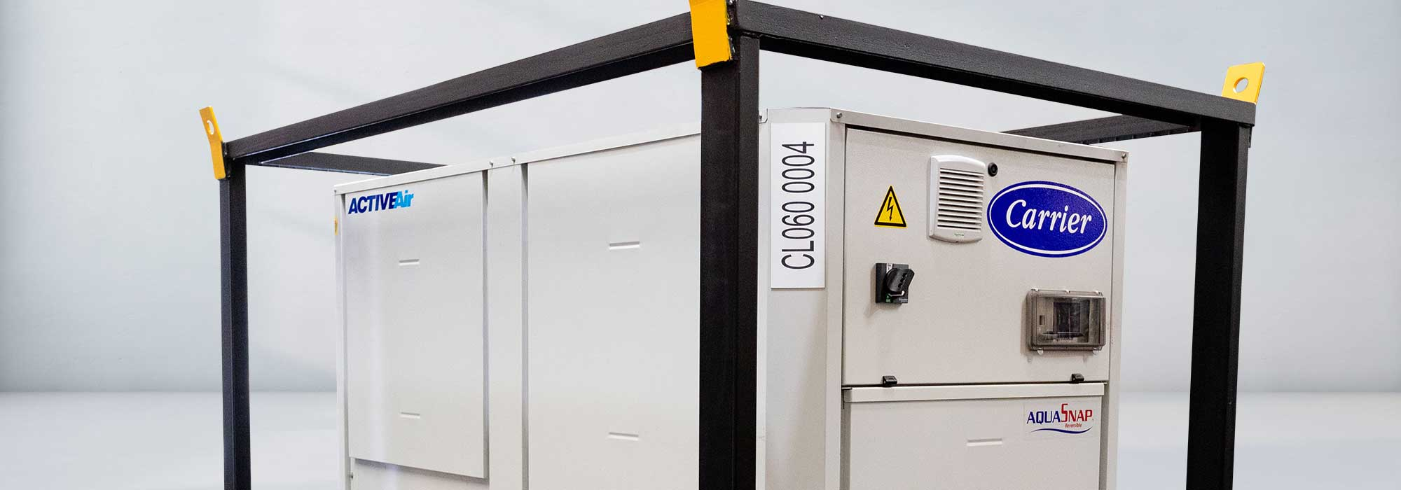 60 kW Low Temp Reverse Cycle Chiller